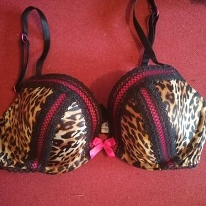 Lasenza leopard print bra